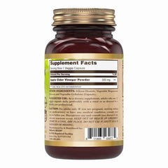 Nature's Boon Apple Cider Vinegar 500 Mg 60 Veggie Capsules