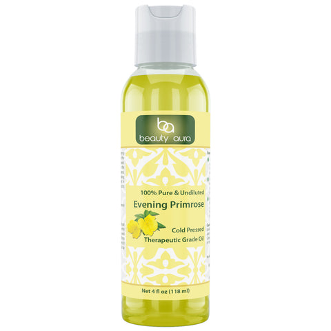 Beauty Aura Evening Primrose Oil 4 Fl Oz