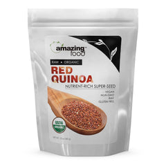 Amazing Food Organic Red Quinoa 12 Oz