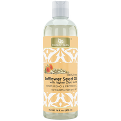 Beauty Aura Pure Safflower Oil 16 Fl Oz 473 Ml