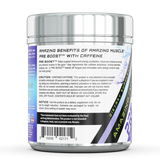 Amazing Muscle Pre Boost - Pre-Workout with Caffeine - 20 Servings (Blue Raspberry)