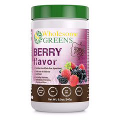 Wholesome Greens Super Food Berry - 8.5 oz