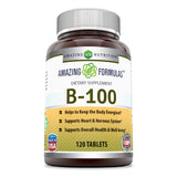 Amazing Formulas Plain B100 120 Tablets