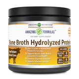 Amazing Formulas Bone Broth Hydrolyzed Protein 15.7 Oz 445 Grams