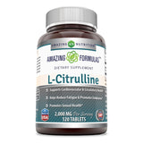 Amazing Formulas L Citrulline 2000 Mg 120 Tablets