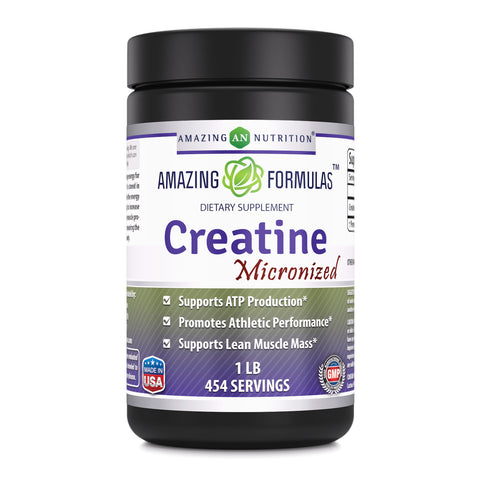 Amazing Formulas Micronized Creatine Monohydrate  1 Lb 454 Servings