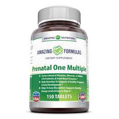 Amazing Formulas Prenatal One Multiple 150 Tablets