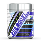Amazing Muscle Pre Boost Pre Workout with Caffeine 20 Servings Watermelon Flavor