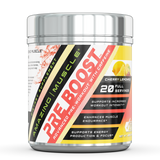 Amazing Muscle Pre Boost Pre-Workout with Caffeine 20 Servings (Fruit Punch)