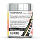 Amazing Muscle Pre Boost Extreme- Pre-Workout with Caffeine - 20 Servings (Cherry Lemonade)