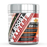 Amazing Muscle Pre Boost Extreme Pre Workout with Caffeine 20 Servings Orange