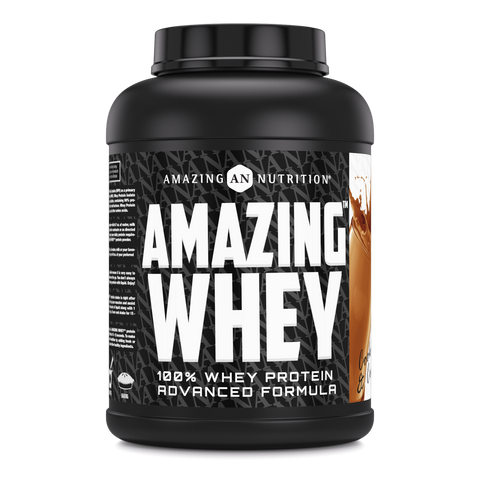 Amazing Whey Whey Protein (Isolate & Concentrate) 5 Lb Cookies & Cream Flavor