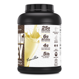 Amazing Whey Whey Protein (Isolate & Concentrate) 5 Lb Vanilla Flavor