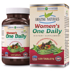 Amazing Naturals Women's One Daily 120 Tablets
