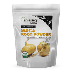 Amazing Food Organic Maca Root Powder 16 Oz
