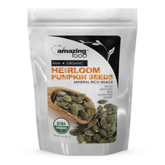 Amazing Food Organic Heirloom Pumpkin Seeds 2 Lbs