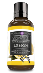 Amazing Aroma 100% Pure Lemon Essential Oil 2 Oz 15.00% Off Auto renew - Amazing Nutrition