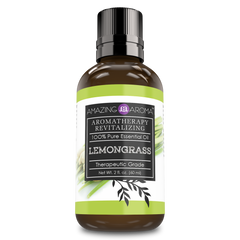 Amazing Aroma Lemongrass Essential Oil 2 Oz