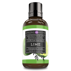 Amazing Aroma 100% Pure Lime Essential Oil 2 Oz 60 Ml