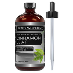 Body Wonders Cinnamon Leaf Essential Oil 4 Fl 118 Ml