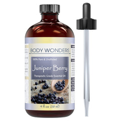 Body Wonders Juniper Berry Essential Oil 4 Fl Oz
