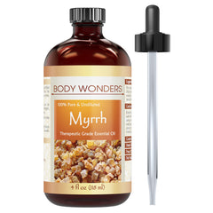 Body Wonders Myrrh Essential Oil 4 Fl Oz