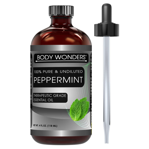 Body Wonders Peppermint Oil 4 Fl Oz 118 Ml