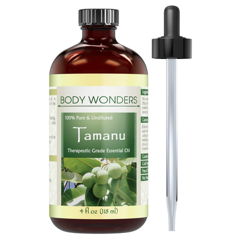Body Wonders Tamanu Nut Oil 4 Fl Oz