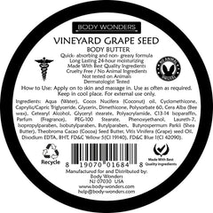 Body Wonders Vineyard Grapeseed Oil 6.9 Fl Oz Scrub