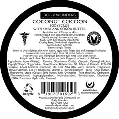 Body Wonders Coconut Cocoon Body Scrub 196 Gm (6.9 Fl Oz)