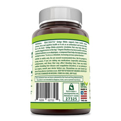 Herbal Secrets Ginkgo Biloba Double Strength 120 Mg 120 Veggie Capsules