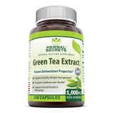 Herbal Secrets Green Tea Extract 1000 Mg 250 Capsules