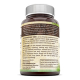 Nutri Essentials Organic Ashwagandha Dietary Supplement  500 Mg 120 Veggie Capsules