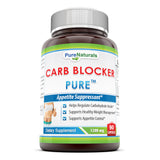 Pure Naturals Carb Blocker 1200 Mg 90 Capsules