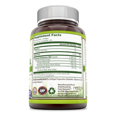 Pure Naturals Evening Primrose Oil with 10% GLA 1300 Mg 120 Softgels