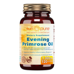 Sun Pure Evening Primrose Oil 1300 Mg 120 Softgels