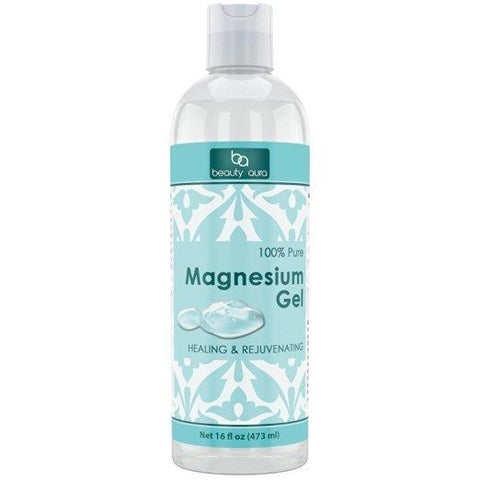 Beauty Aura Magnesium Gel 16 oz