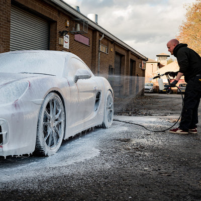 Snow Foam Time