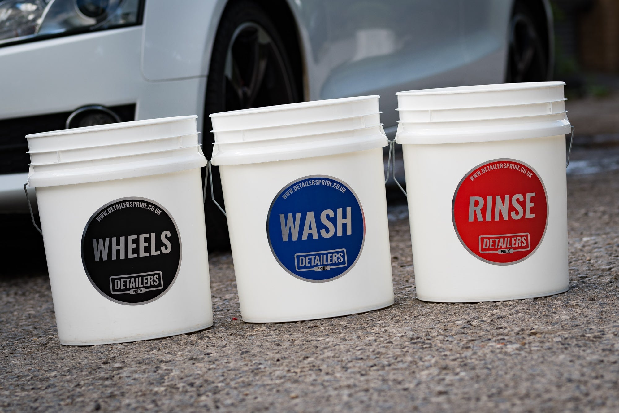 Detailers Pride Wash Bucket Stickers