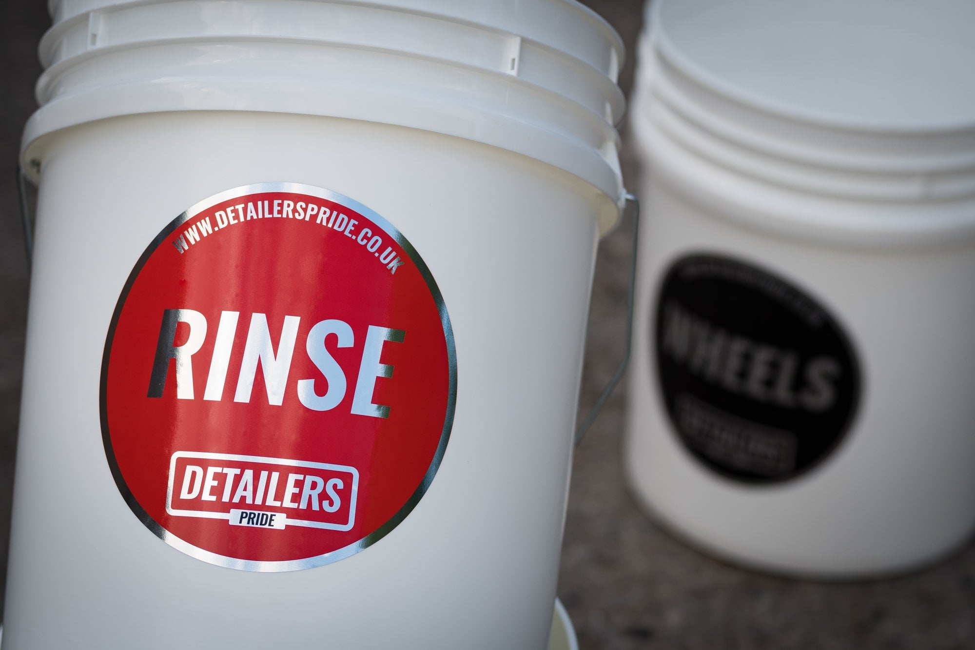Detailers Pride Bucket Stickers