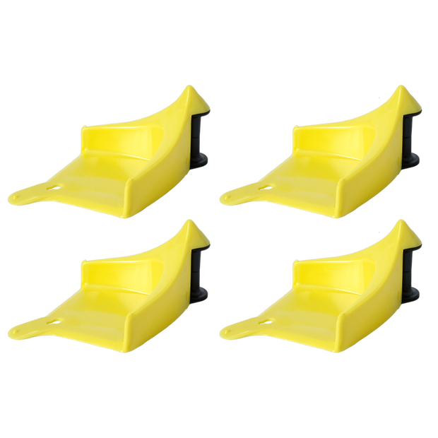 Detail Guardz Hose Guides (4 Pack) Yellow