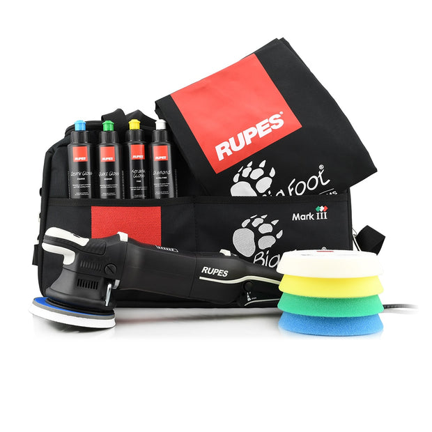 Rupes LHR15 MKIII BigFoot Polisher DLX Kit