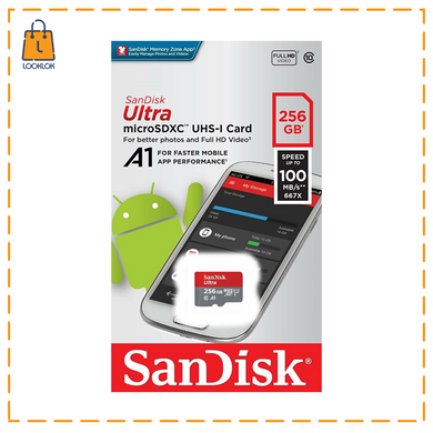 MICRO SD SANDISK 256GB