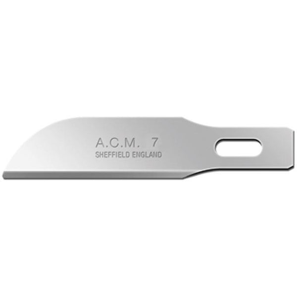 Sswann Morton ACM (Arts, Craft & Modellers) No 7 Blades 9327 (Pack of 50)