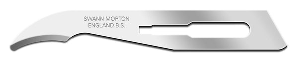 Swann Morton Stitch Cutters No 3 Fitment Sterile Stainless Steel Blades 0326 (Pack of 100)