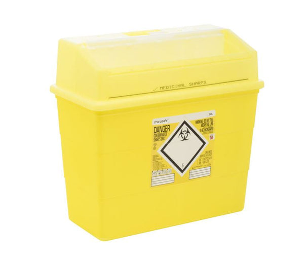 30 Litre Yellow Sharps Container (Pack of 2)