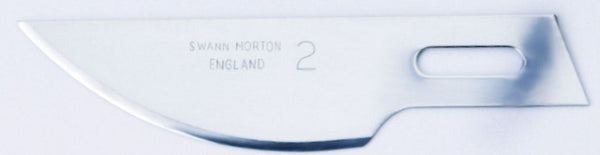 Swann Morton No 2 Craft Tool Blades 1242 (Pack of 50)