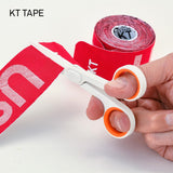 Slice 10544 Small Scissors Rounded Tip White/Orange
