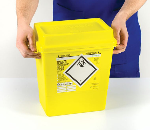 11 Litre Clinisafe Sharps Container (Pack of 2)