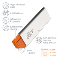 Slice 10585 Manual Carton Cutter Grey/Orange